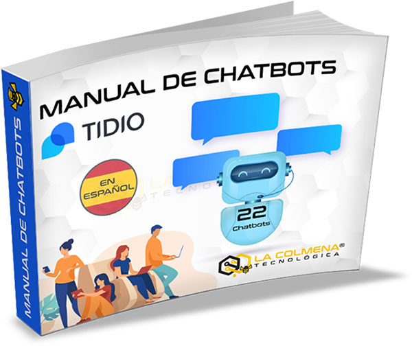 Regalo Manual de Chatbots Tidio
