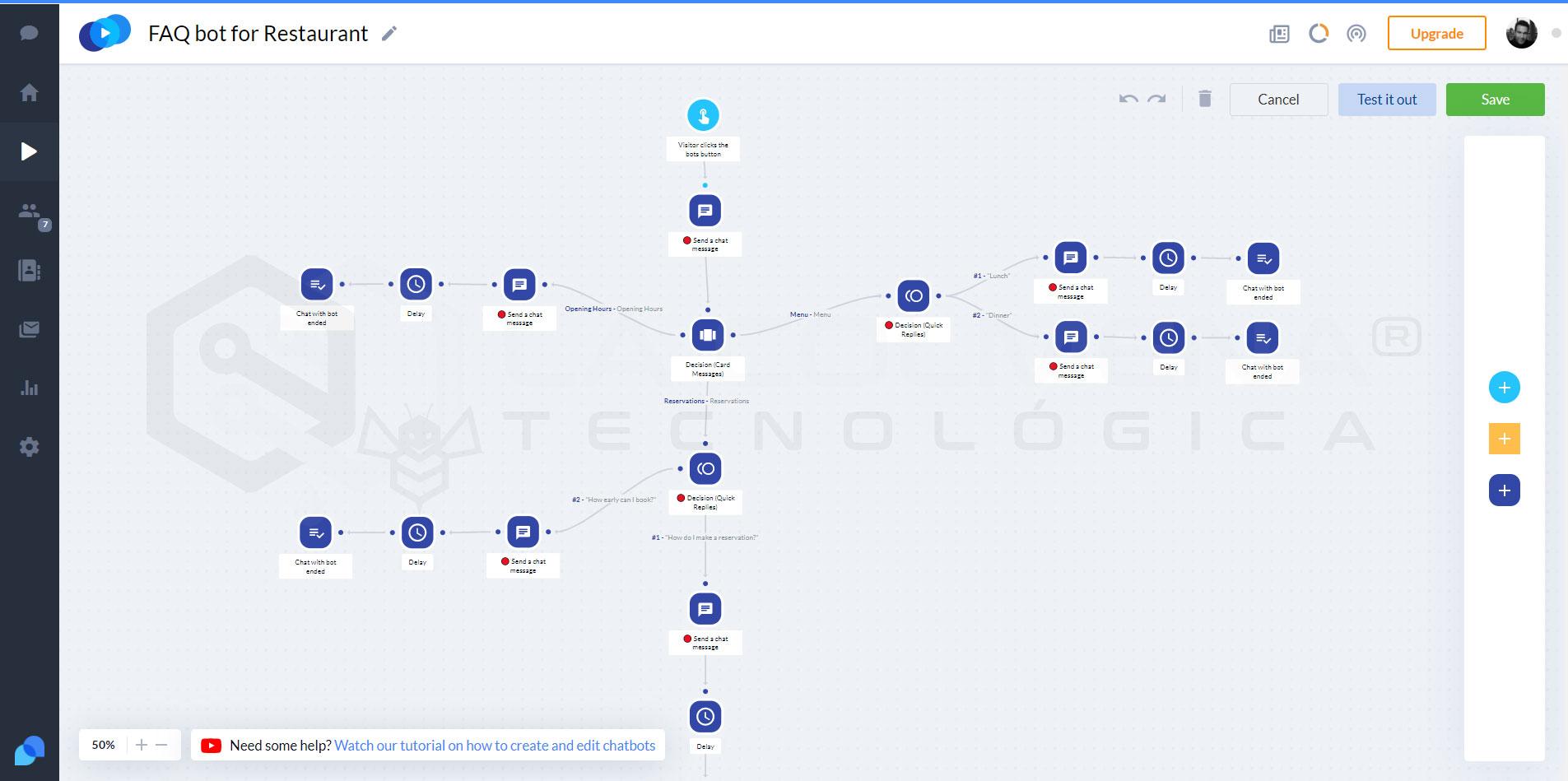 Como usar Tidio Chatbot