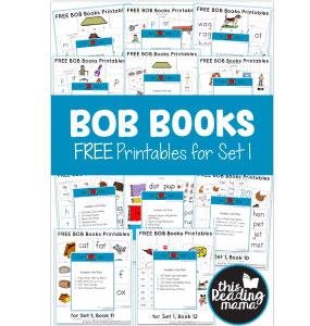 Mejores Libros - Bob Books 1 y 2