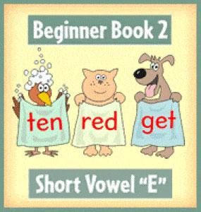 """Mejores Libros - Short vowel """"E"""""""