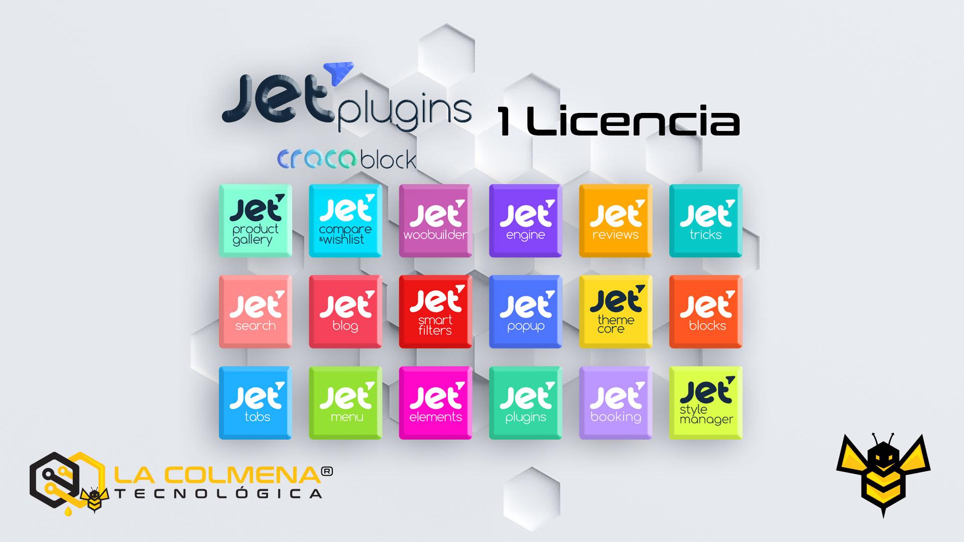 1 Licencia JetPlugins de Crocoblock