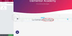 Plantilla Global Elementor
