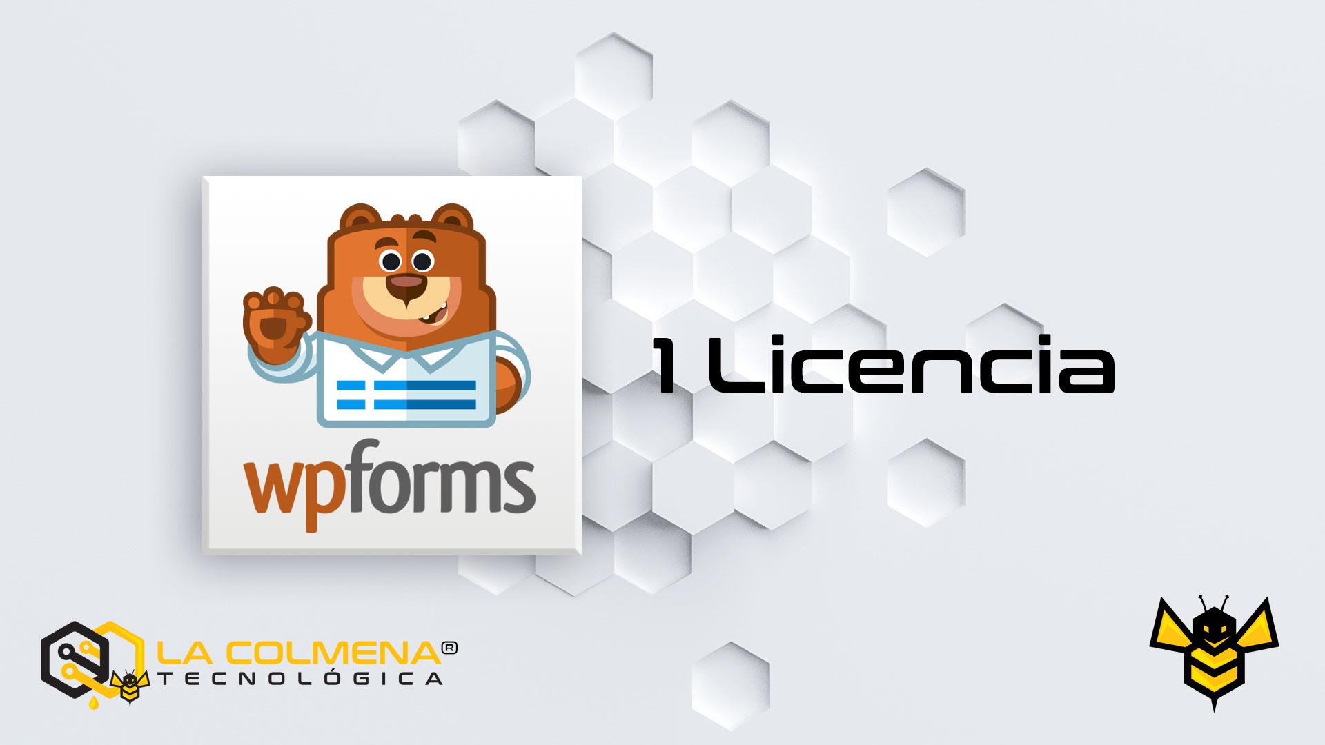 1 Licencia de WPForms